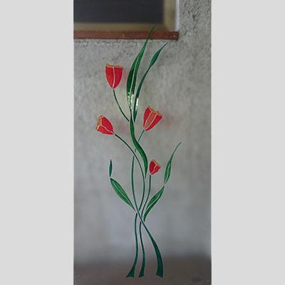 Vetro decorato 025
