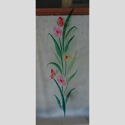 Vetro decorato 015